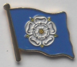 Yorkshire County Flag Enamel Pin Badge